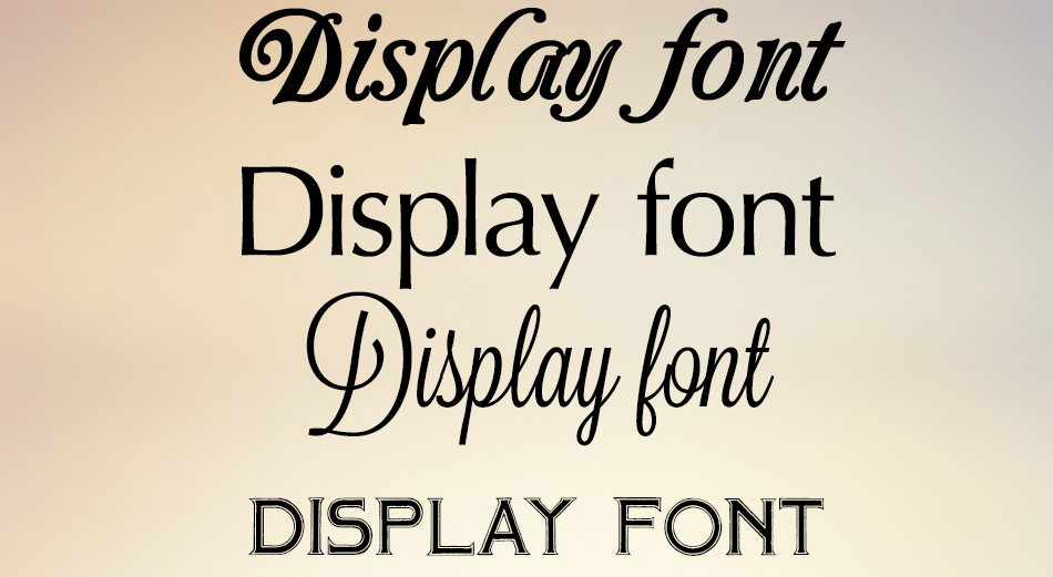 Fonts_display